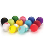 Rubber Lip Balm Balls