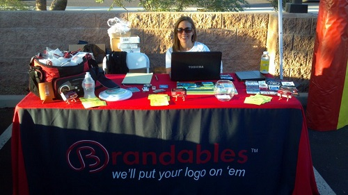 Brandables booth at a Trade Show in Phoenix