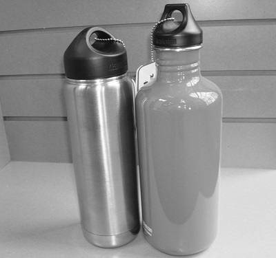 put your logo on metal water bottles like these