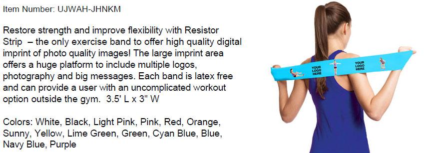 Branded Resistor Strip